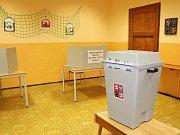 První den prezidentských voleb v Ludvíkovicích