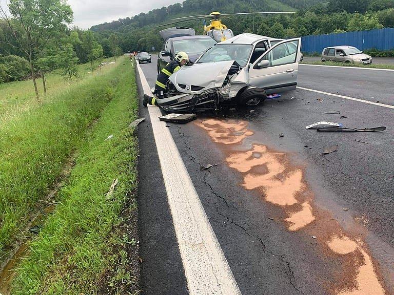 Nehoda u Huntířova.