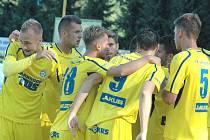 DOBRÝ VSTUP DO SEZÓNY. Fotbalisté Varnsdorfu vyhráli v Prostějově 1:0 a po čtyřech kolech nasbírali sedm bodů.