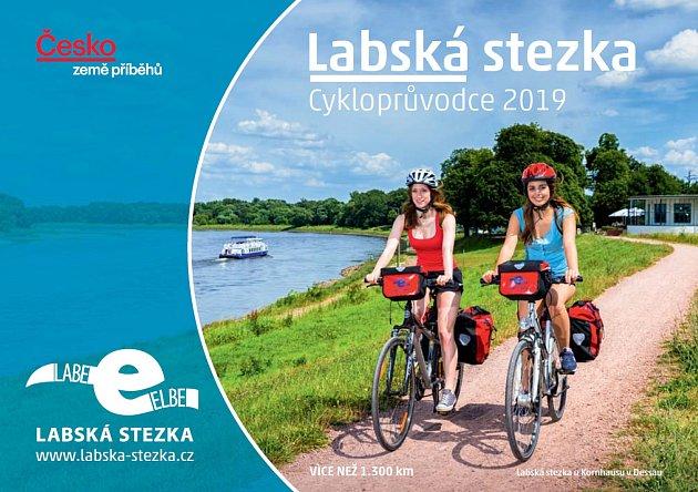Cykloprůvodce Labská stezka 2019.