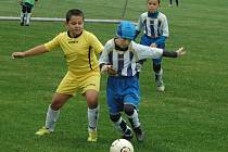 AREÁL SK DĚČÍN hostil mládežnický turnaj ve fotbale.