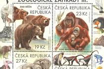 Zoo Děčín a Zoo Ústí nad Labem na známkách.