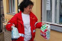 Humanitární pomoc poskytl Markvarticím i ČČK