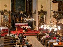 Letní Večerní prohlídka Lorety v Rumburku zahrnuje i klášterní kostel sv. Vavřince.