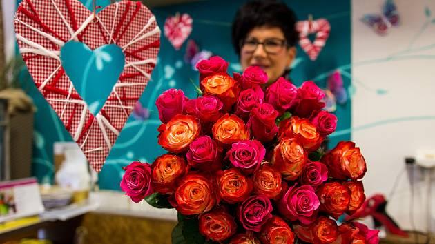 Valentýn se blíží. Ilustrační foto.