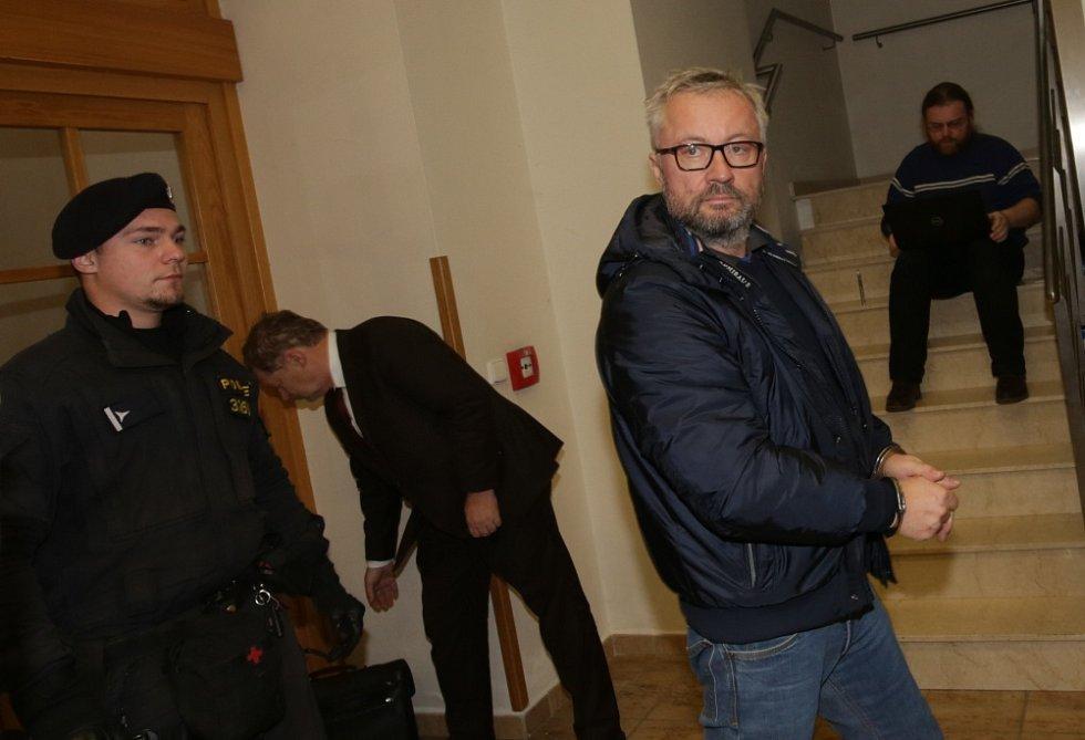 Miloš Schubert u soudu.
