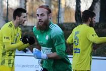 Adam Richter vychytal v dresu FK Varnsdorf pět podzimních čistých kont.