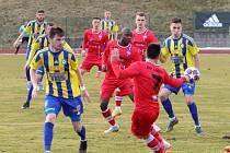 Remíza. Fotbalisté Varnsdorfu doma uhráli proti první Líšni remízu 1:1.