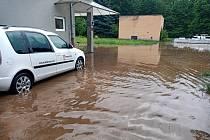 Velká voda vytopila bynovskou teplárnu