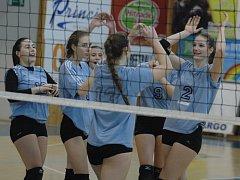 V DĚČÍNĚ proběhlo finále ČP volejbalových kadetek a juniorek.