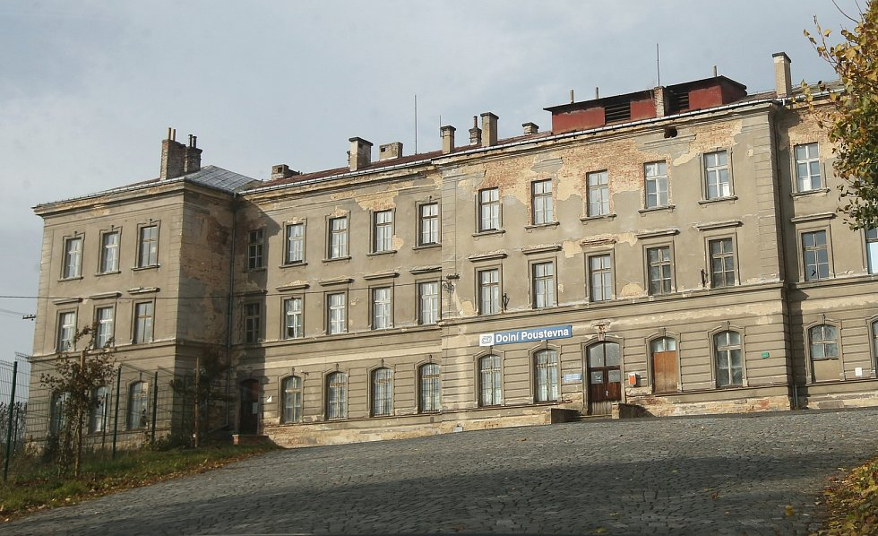 Nádraží Dolní Poustevna ilustrační foto.