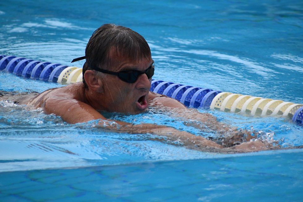 Miroslav Smrčka se v Děčíně připravuje na paralympiádu v Tokiu.