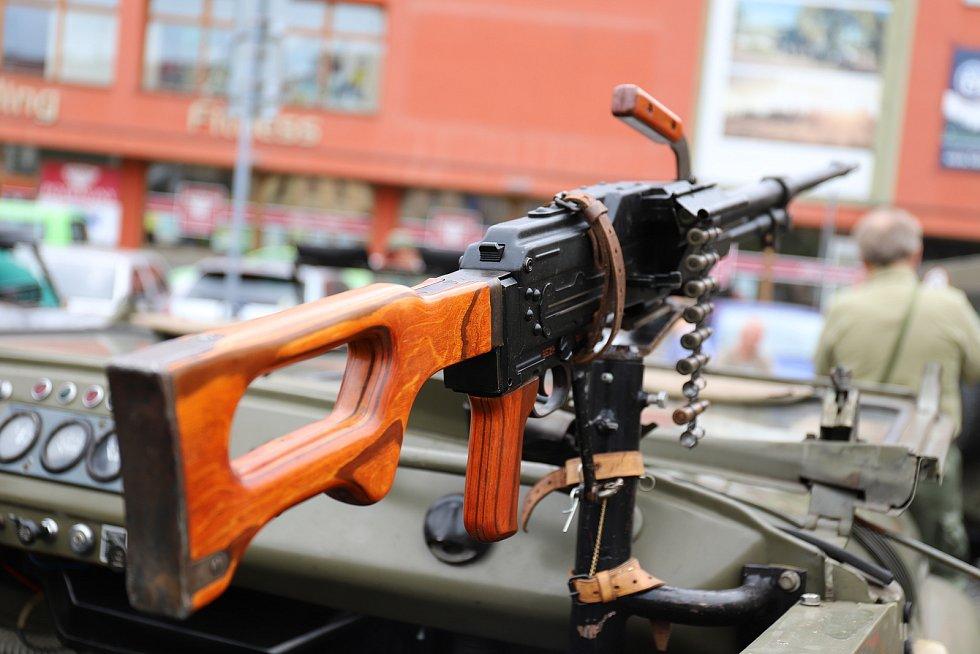 Jubilejní 15. sraz vojenských veteránů na Šluknovsku.