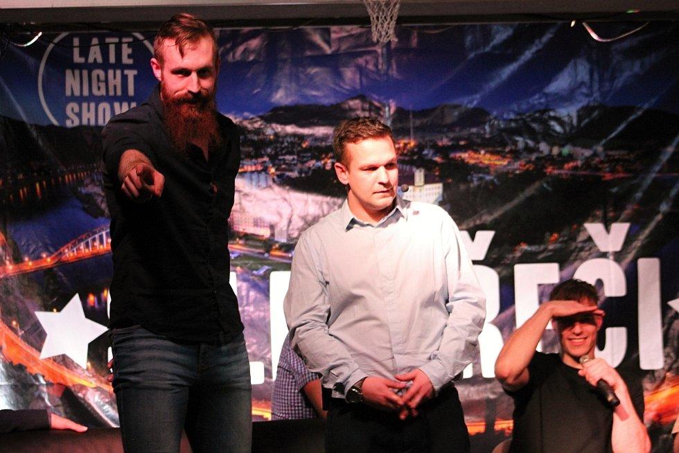 Silné řeči tentokrát vedl Roman Vaněk a děčínští basketbalisté.
