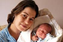 Margitě Čížkové z Varnsdorfu se 12.ledna v 11.35 v rumburské porodnici narodil Miky Frolík. Měřil 51 cm a vážil 3,55 kg.
