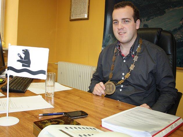 Filip Ušák, starosta Benešova nad Ploučnicí.