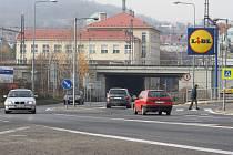 Pětimostí v Děčíně.