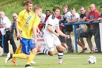 Přípravný zápas FK Varnsdorf v Hradci prohrál.