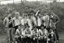 Dorost FK Malšovice v roce 1990.