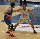 ODVETA. Basketbalisté Děčína ve druhém čtvrtfinále Alpe Adria Cupu proti USK Praha.