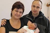 Iloně Kohoutové z Rumburka se 11.ledna v 15.52 v rumburské porodnici narodil syn Matěj Frisnicz. Měřil 50 cm a vážil 3,45 kg.