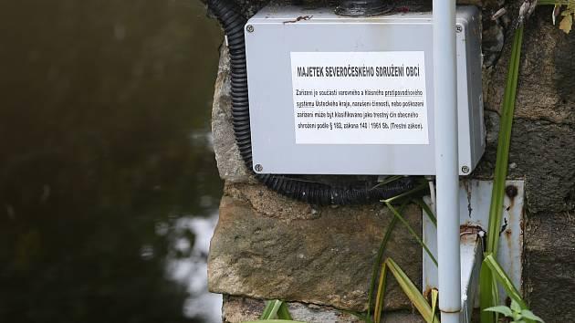 VAROVNÉ ZAŘÍZENÍ proti velké vodě mají na severu například na Litoměřicku.