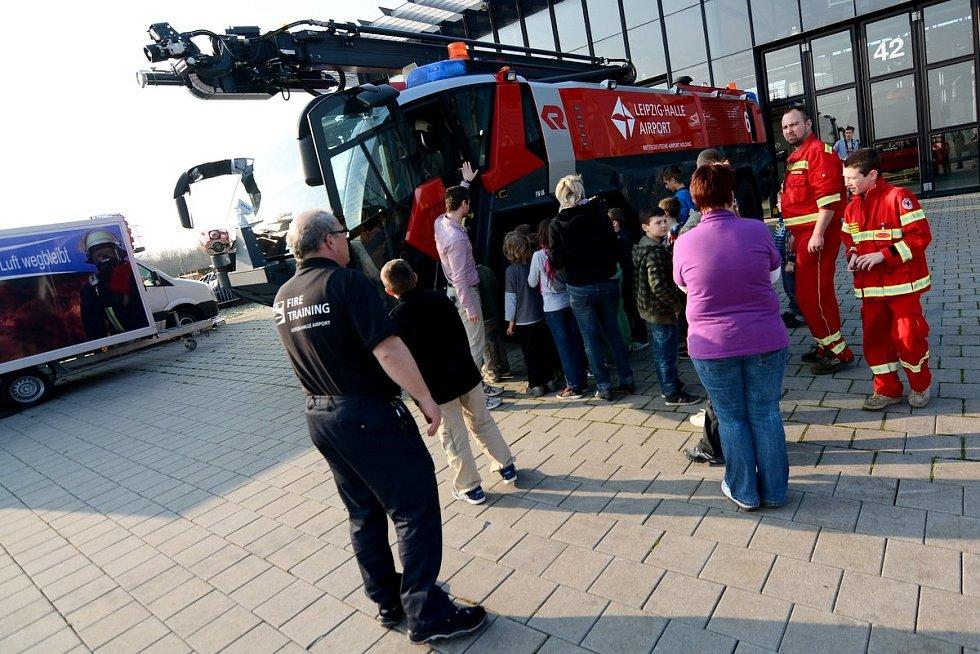Členové a příznivci Českého červeného kříže ze Šluknova dostali možnost zúčastnit se exkurze do Lipska.