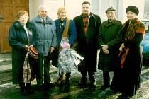 Letuška Vesna Vulovič se vrátila do Srbské Kamenice v roce 1997