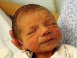 Daneček Hubálovský se narodil Kateřině Folprechtové z Děčína 12. února v 11.19 v děčínské porodnici. Vážil 2,63 kg.