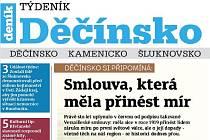 Nové vydání Týdeníku Děčínsko.