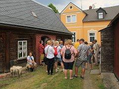 Den podstávkových domů v Rumburku.