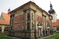 Loretánská kaple v Rumburku.
