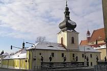 Vstupní budova Lorety v Rumburku.