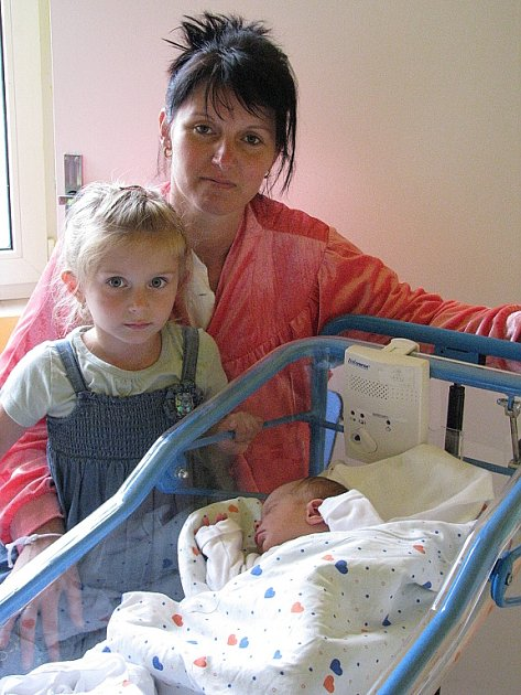 Marcele Nováčkové z České Kamenice se 20. června ve 14.50 v děčínské porodnici narodila dcera Tereza Nováčková. Měřila 51 cm a vážila 3,16 kg.