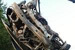 Při dopravní nehodě u Kerthartic zemřel jeden člověk.