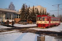 Poslední vlak Českých drah, který projel tzv. Kozí dráhu po celé trase Oldčichov u Duchcova - Děčín.
