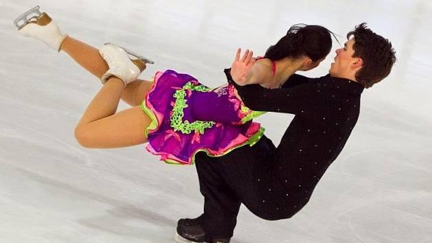BYLI NEJLEPŠÍ. Michal Češka se svou sportovní partnerkou Karolínou Procházkovou vybojoval republikový mistrovský titul. České duo se tak nominovalo na MS do Milána.
