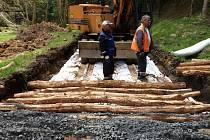 Oprava silnice vedoucí národním parkem trvala více než rok.
