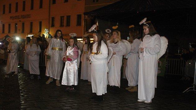 Krampusáci v Benešově nad Ploučnicí