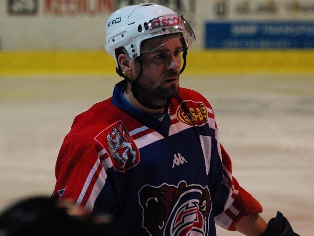 MICHAL OLIVERIUS - současný kapitán HC Děčín.