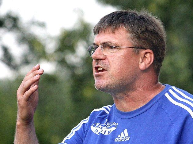 PAVEL HORÁČEK - trenér FK Junior Děčín.