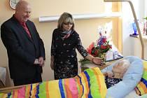 Marie oslavila své 106 narozeniny.