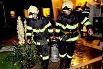 Varnsdorf: Zasáh hasičů v noci na 7. července