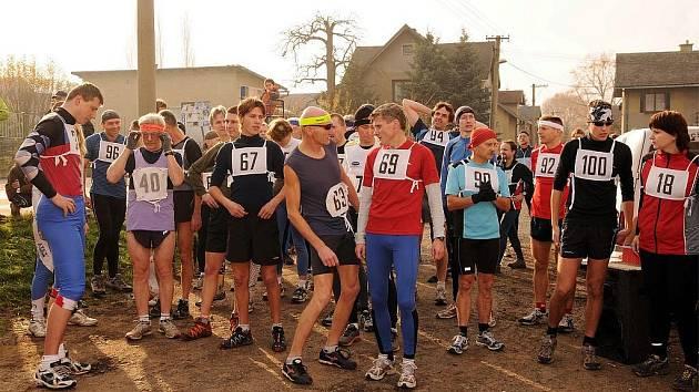 Letošního ročníku běhu na Chlum se zúčastnil rekordní počet účastníků.