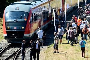 Vlaky v Národním parku.