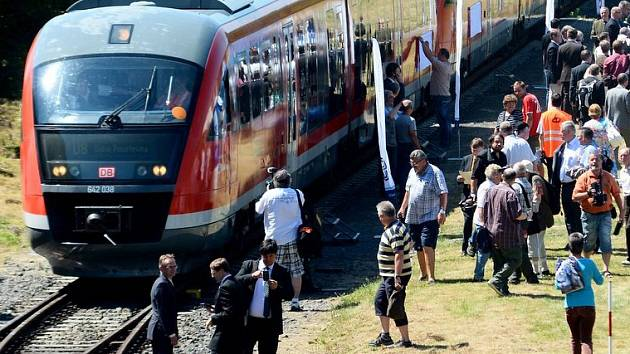 Vlaky v Národním parku. Ilustrační foto.