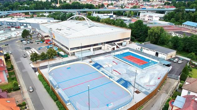Děčínu se otevře nové multifunkční sportoviště.