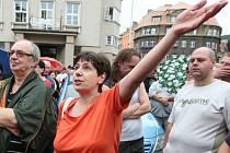 Pochod v Děčíně 2014.