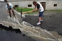 Červnové bleskové povodně na Děčínsku.