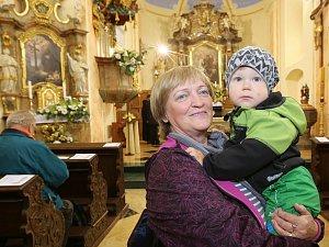 Posvěcení kostela v Markvarticích